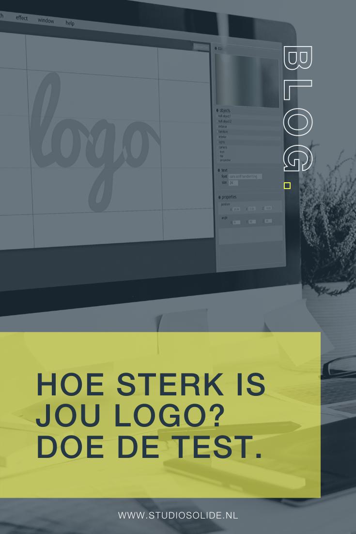 Hoe sterk is mijn logo, doe de test